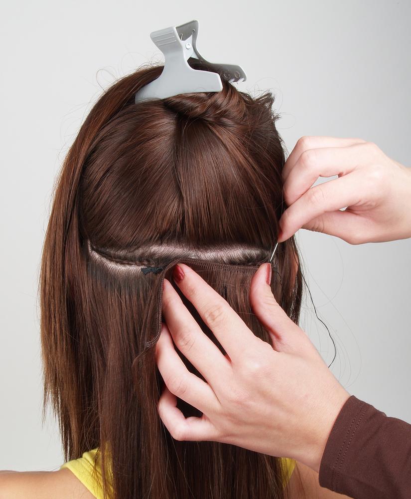 Cornrow Hair In Sewn Weave 101