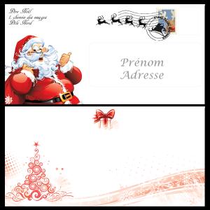 Le Pere Noel Repond Au Lettre.Papier A Lettre Reponse Du Pere Noel