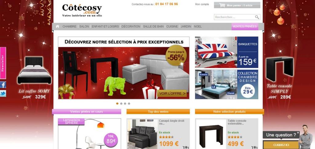avis et t moignages des internautes sur cotecosy. Black Bedroom Furniture Sets. Home Design Ideas