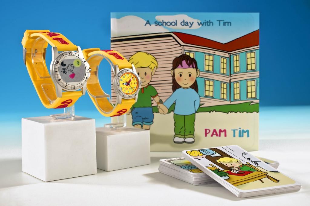 finest selection cb4a6 211fc Avec Pam Tim, les enfants deviennent les maîtres du temps !