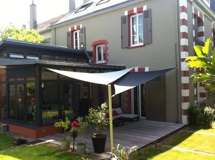 Beautiful Fabriques With Voile D Ombrage Pour Terrasse
