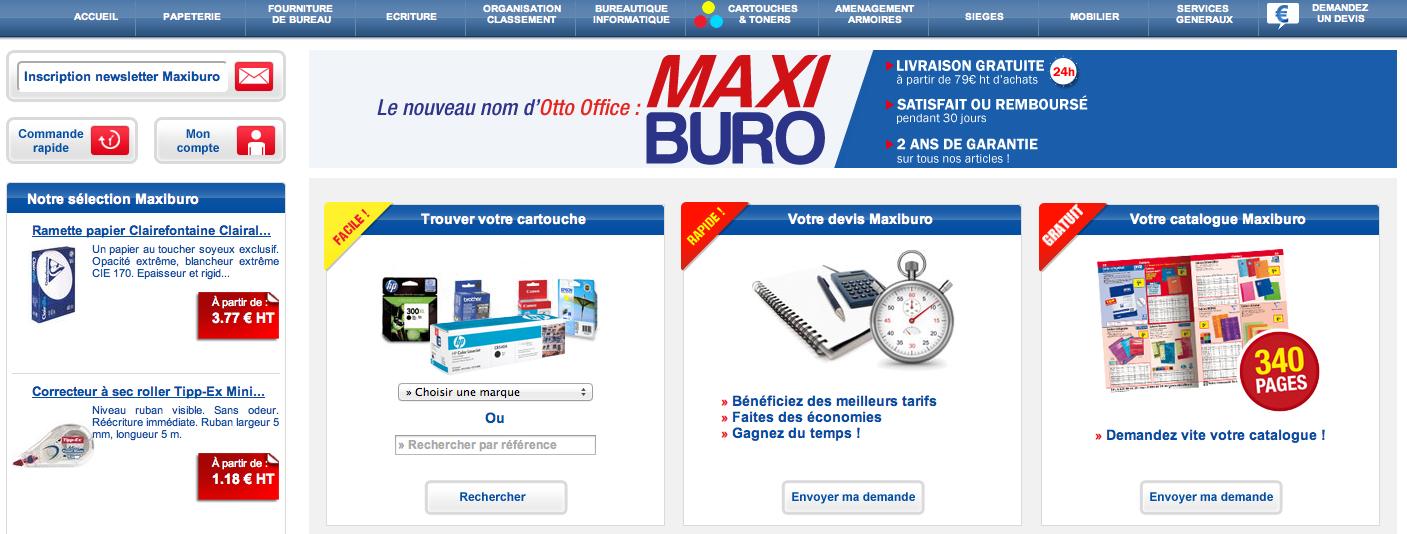 Comparateur boutique en ligne comparateur de fournitures for Fourniture de bureau en ligne