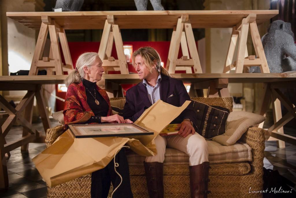 Jane-Goodall-avec-Aurélien-Raynaud