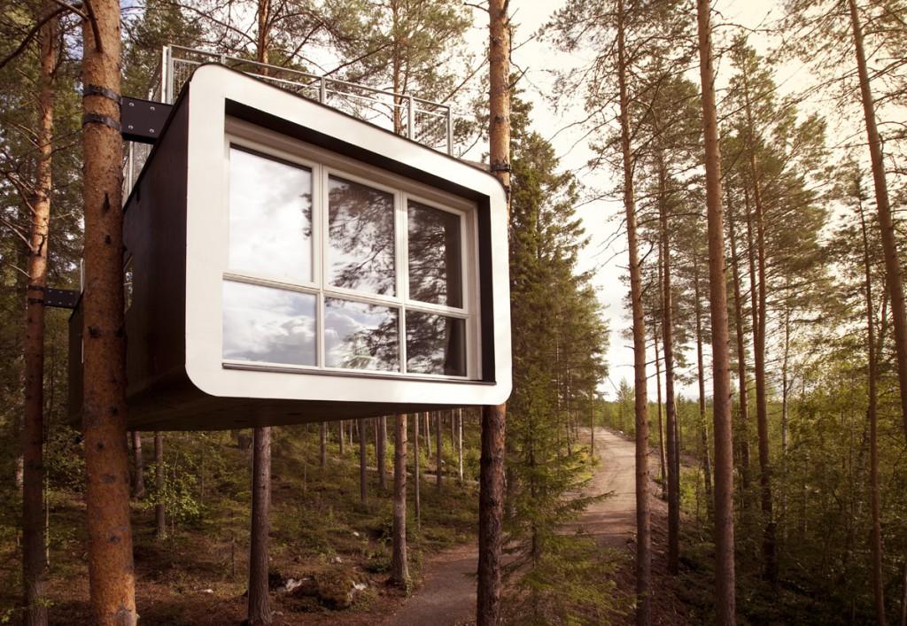 Suède_Lulea_Hébergements_TreeHotel_Extérieur1