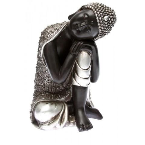 statue-bouddha-argent-tete-posee-28cm