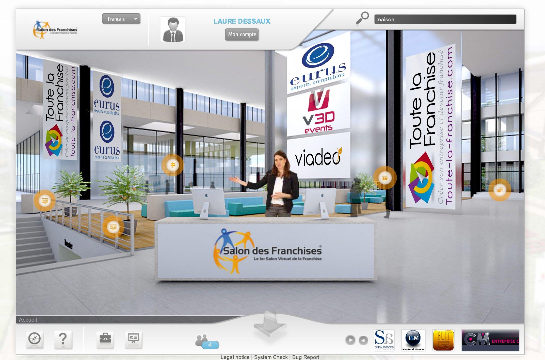 5 me dition du salon virtuel des franchises les 24 et 25 for Salon virtuel de la franchise