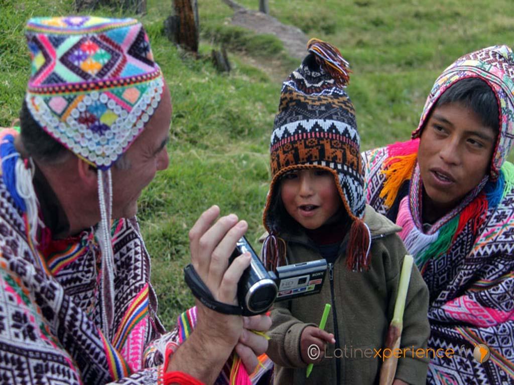 Echange au Pérou