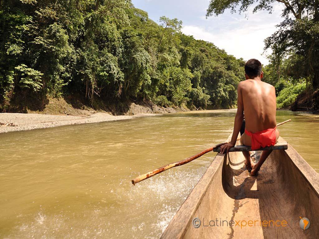 Sur le terrain avec les Embera