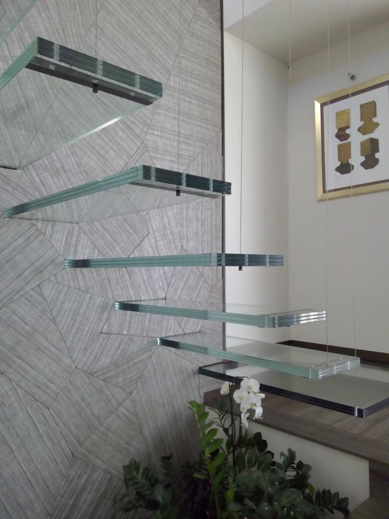 Quand le verre illumine la d coration d int rieur relations publiques pro - Escalier en verre design ...