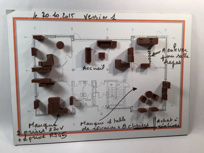 adici optimise l espace des locaux avec des maquettes 3d relations publiques pro. Black Bedroom Furniture Sets. Home Design Ideas