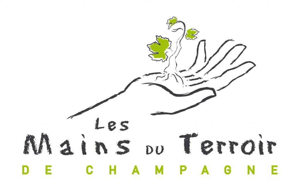 Logo Mains du terroir 2014 Pantones