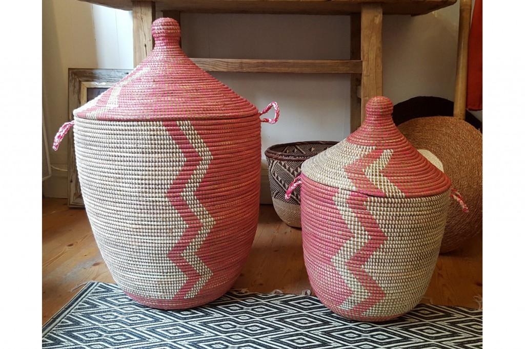 panier-a-linge-africain-zigzag-rose-blanc-thotmea