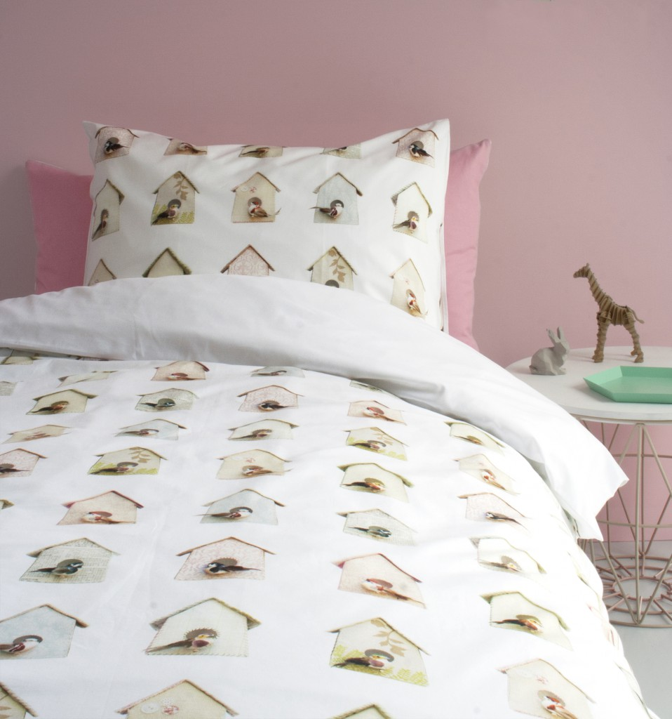 Birdhouse duvet cover 01