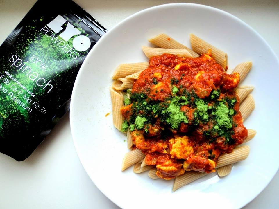 Lyo Powders  _ recette avec épinards