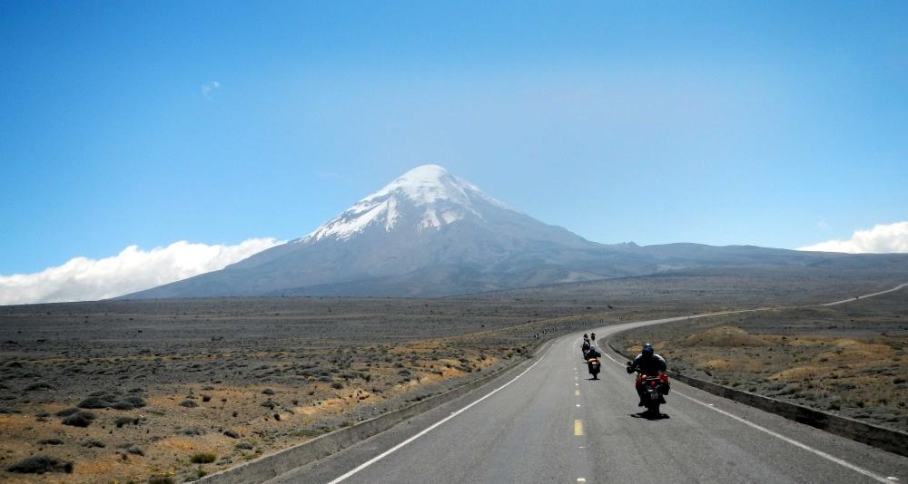 Sur la route du Chimborazo 2