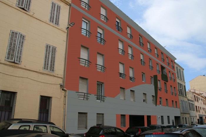 Requalification et rénovation de façade à Marseille