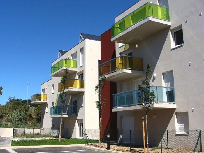 Construction d'un ensemble de logements pour 13 Habitat