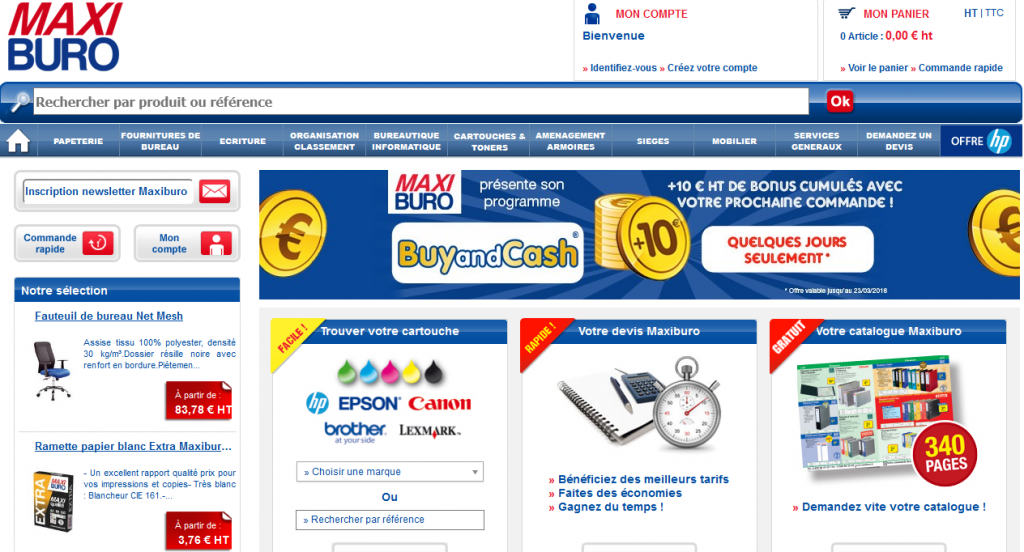 Maxiburo sensibilise les fran ais la question de la for Achat fourniture de bureau