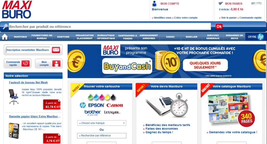Fournitures de bureau, papeterie, mobilier, achat papier et équipement de bureau - otto office - Maxiburo