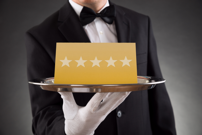 http://www.dreamstime.com/stock-photos-waiter-serving-star-rating-close-up-plate-image57967053