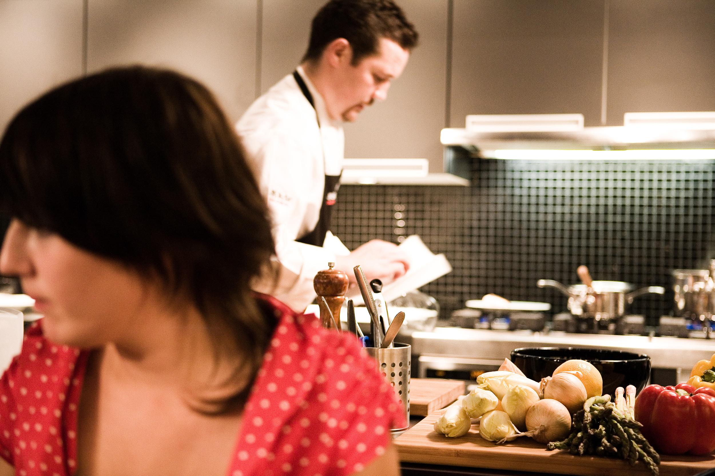 Et si on invitait un chef cuisinier la maison for Cuisinier domicile