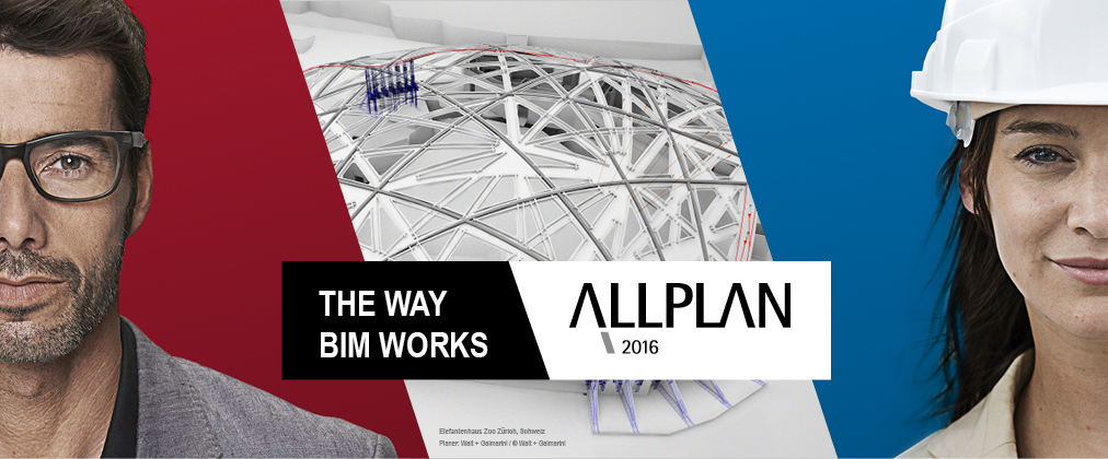 Key-Visual Allplan 2016