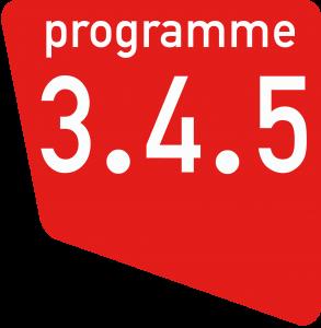 Logo 345 Pantone 485 C