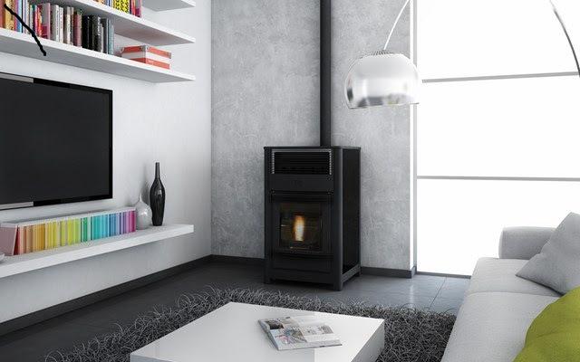 un po le pellets qui fonctionne m me sans lectricit l innovation de la marque dz. Black Bedroom Furniture Sets. Home Design Ideas