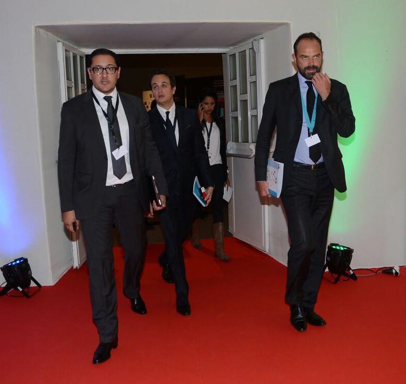 Edouard Philippe et Khalid Bouksib