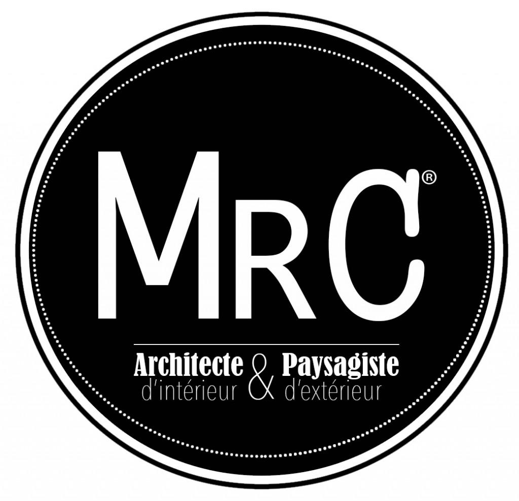 NOIR&BLANC NEW LOGO - MRC ARCHITECTE D'INTERIEUR ET PAYSAGISTE