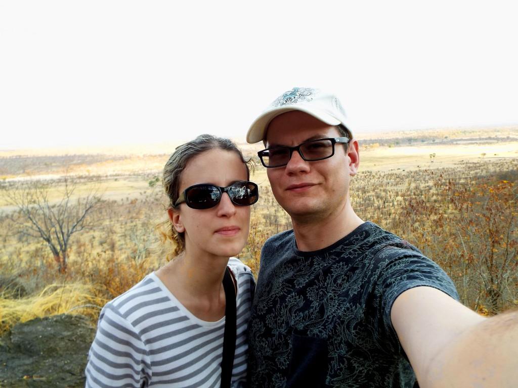 Amandine et Clément au Zimbabwe