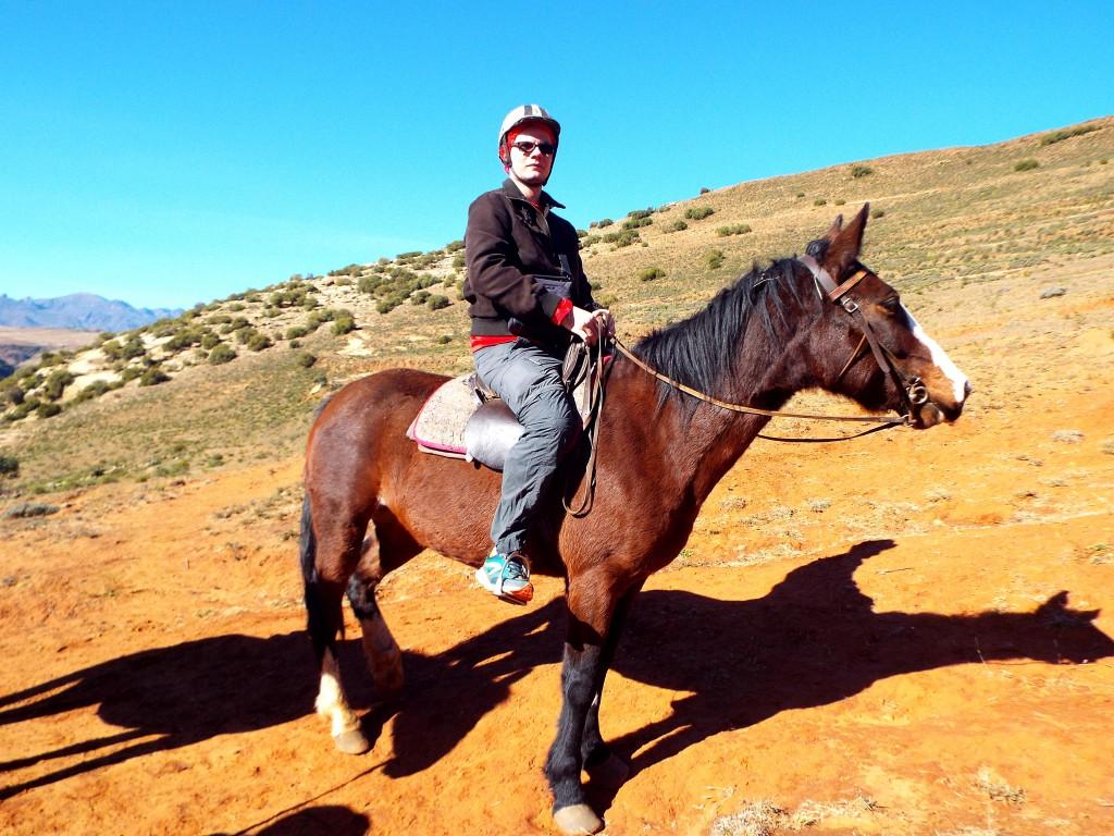 Trek à poney au Lesotho