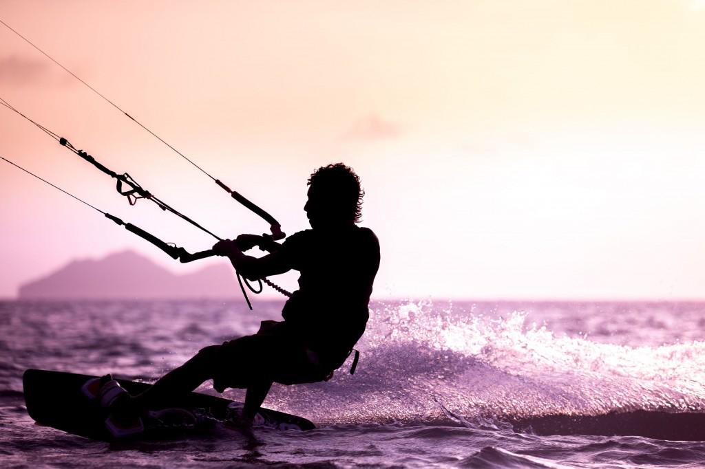 38773547 - kitesurfing