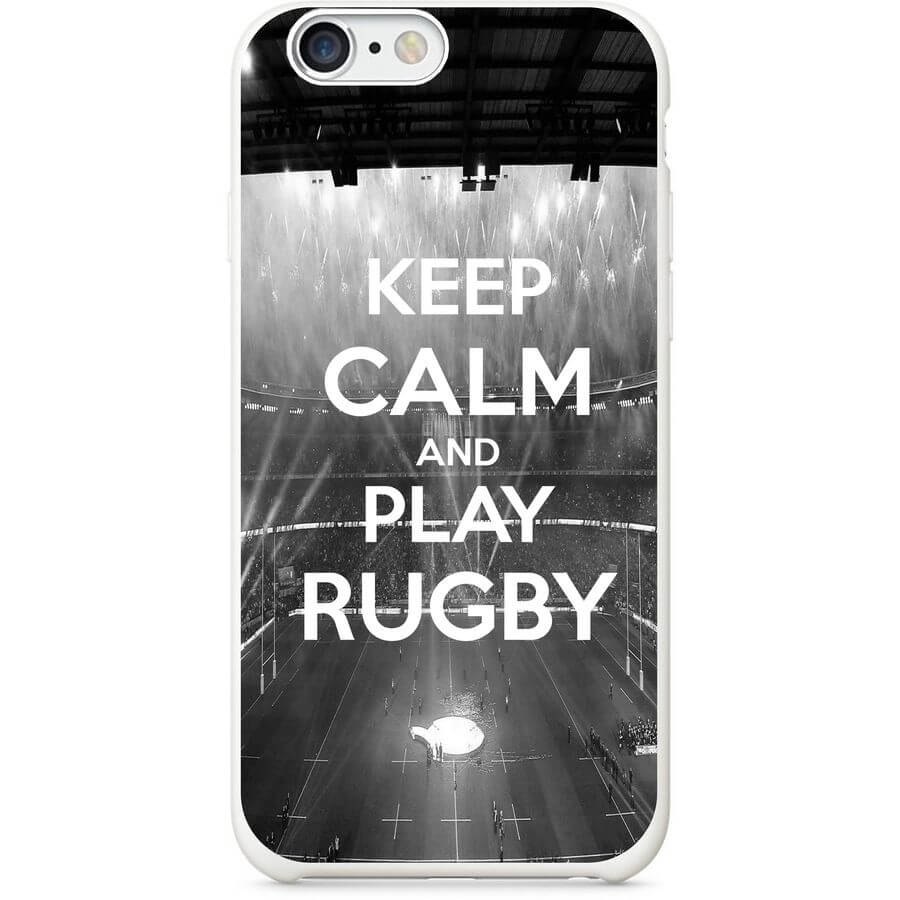 coque Keep calm and play Rugby