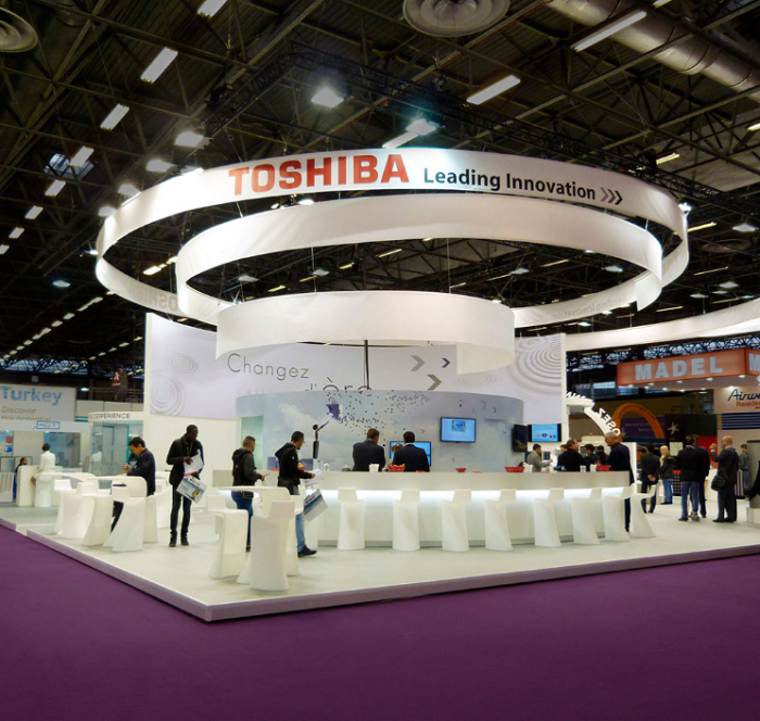 Stand Toshiba, Salon Interclima
