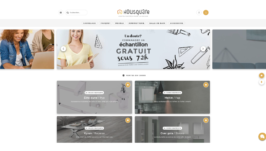 Housquare-homepage