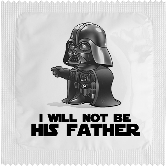 I WILL NOT BE HIS FATHER