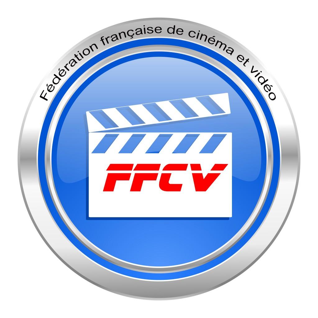 video icon, blue button, cinema sign