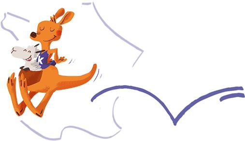 kangourou-carte