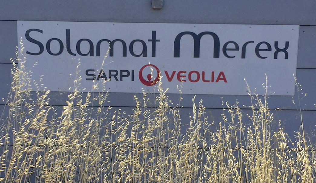 Logo SOLAMAT VEOLIA MRC