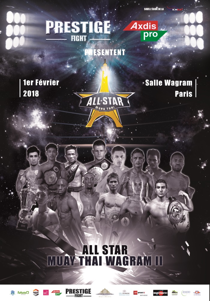 AFFICHE ALL STAR MUAY  THAI