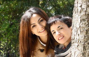 Hayat Gaamouche et sa soeur Dounia