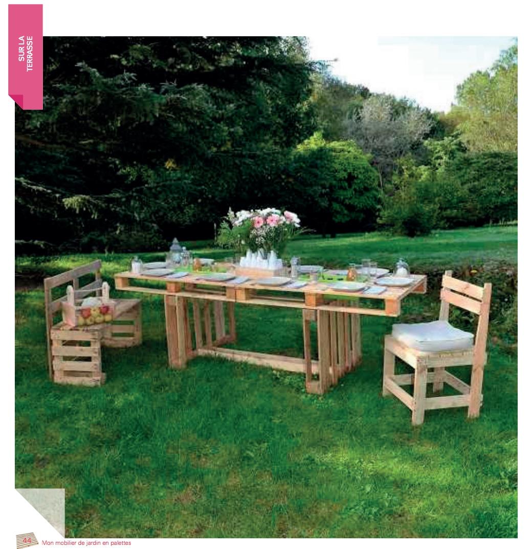 Sortie livre – Mon mobilier de jardin en palettes ...