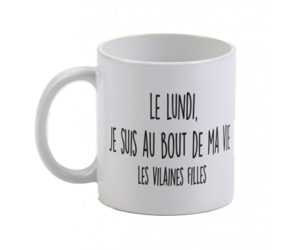 Avec ce mug, vos collègues et patrons seront peut être un peu plus indulgents !