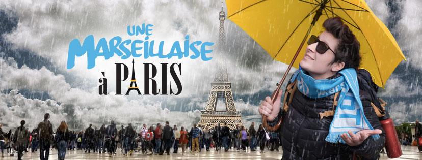 CP UNE MARSEILLAISE A PARIS