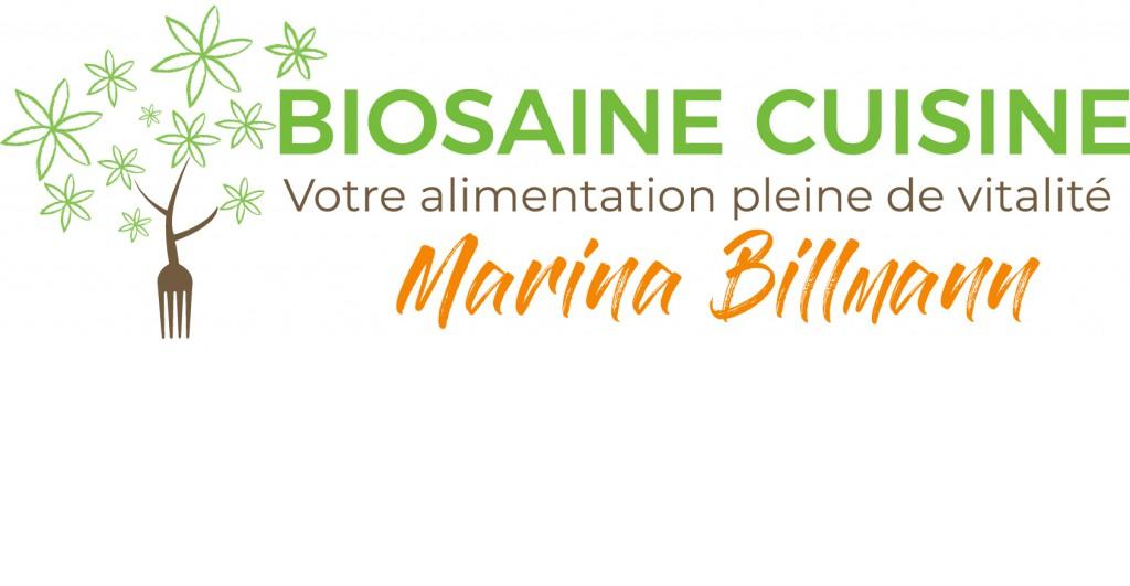 Logo BIOSAINE CUISINE vectorisé