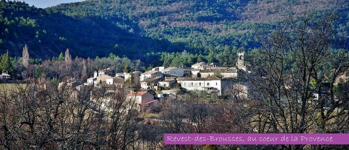 Revest des Brousses, au coeur de la Provence