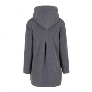 MAGNETHIK HD manteau Capuche dos gris souris