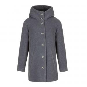 MAGNETHIK HD manteau Capuche face gris souris