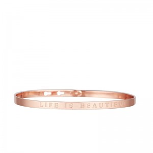 bracelet-jonc-a-message-life-is-beautiful-rose